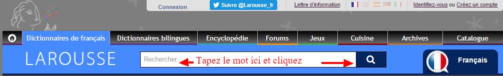 écouter du français Accueil Larousse en ligne