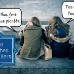 20 verbes courants en français familier