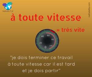 préposition à en français