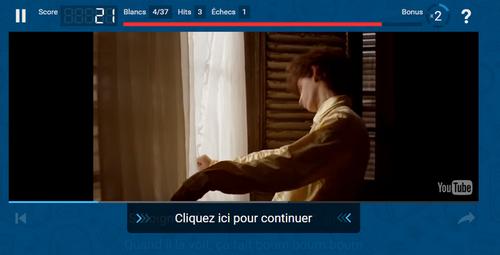 Lyrics training pour apprendre le français en chansons