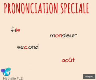 prononciation en français