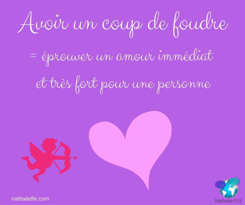 conversation en français familier coup de foudre