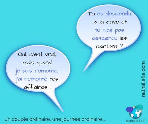 verbes qui se forment avec les deux auxiliaires