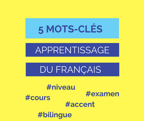 vocabulaire apprentissage français