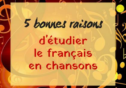 étudier français chansons