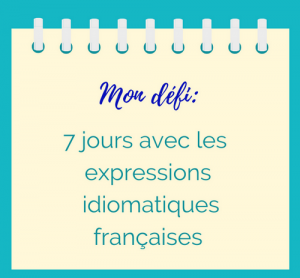 expressions idiomatiques exercices
