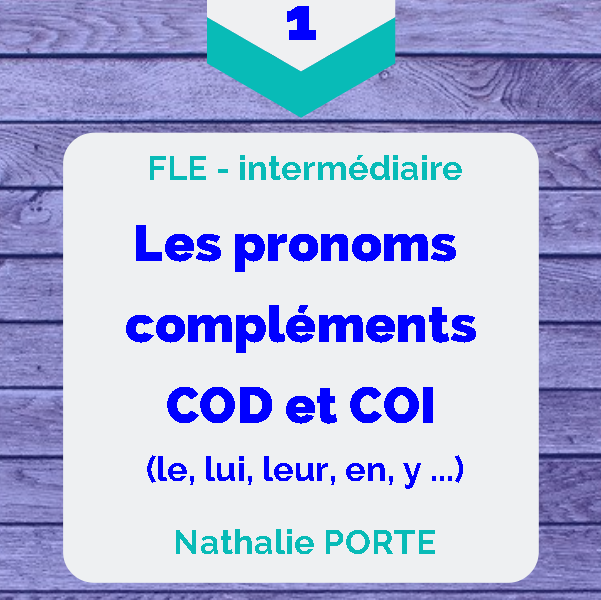 guide grammaire pronoms COD COI