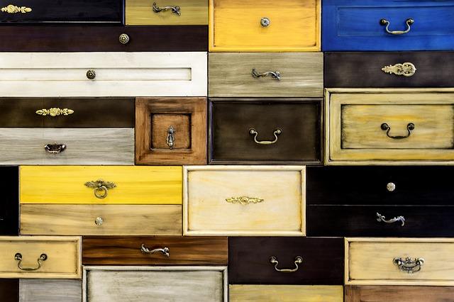 armoir à tiroirs pour ranger vos connaissances