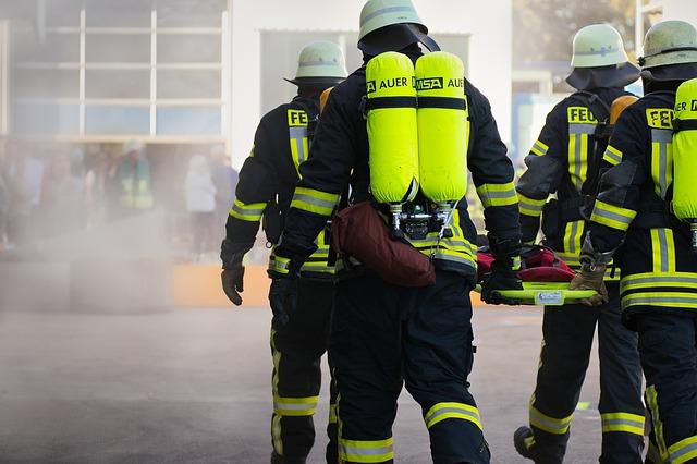 Les pompiers sont entrainés techniquement et au niveau de la gestion du stress